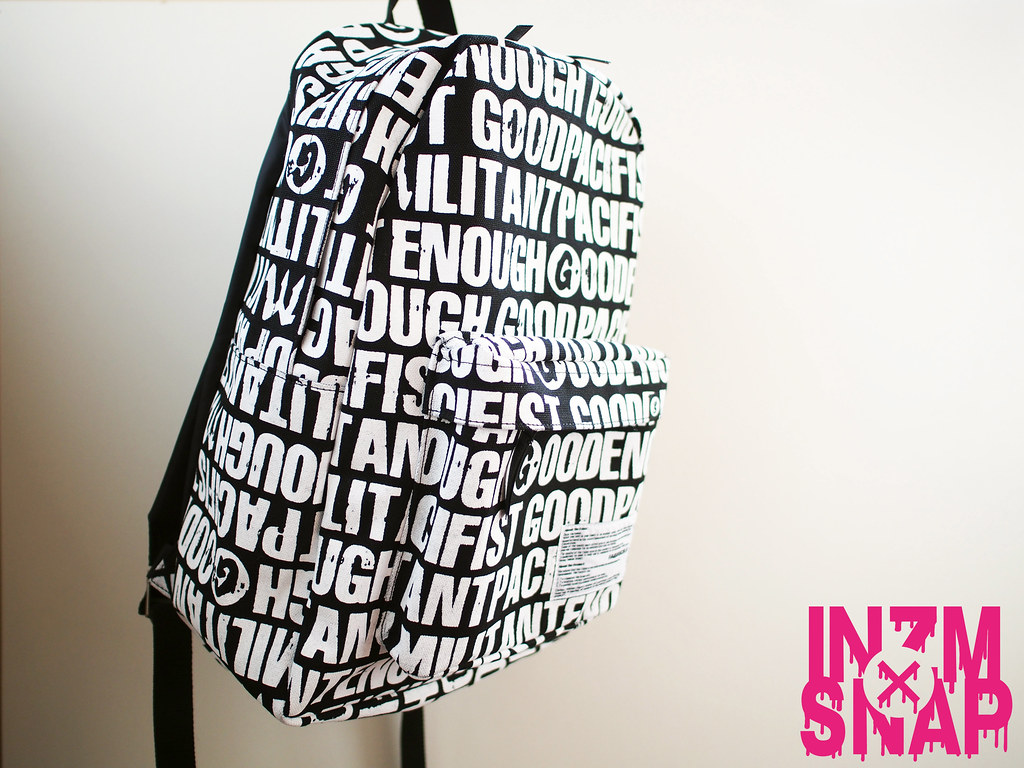 GOODENOUGH × MILITANT PACIFIST | Back Pack