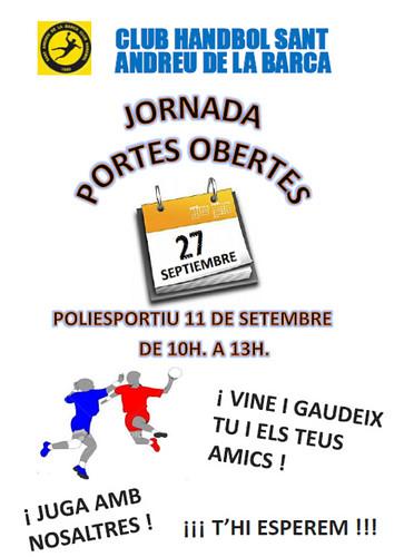 Handbol Portes Obertes sept-2014