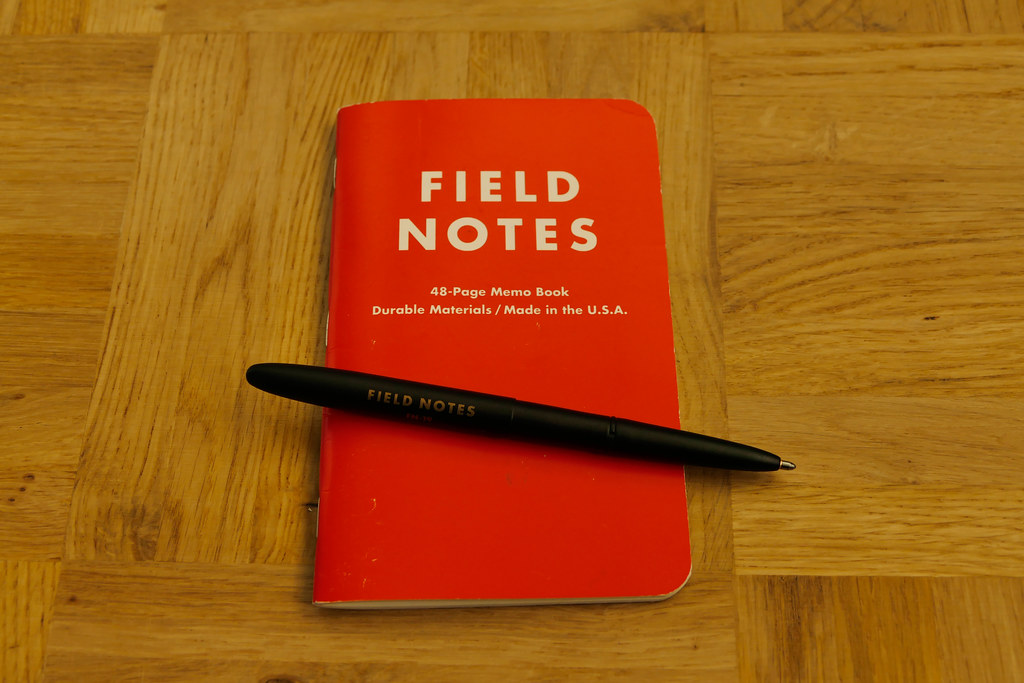 Field Notes EXPEDITION Note Book & FN-19 Space Pen