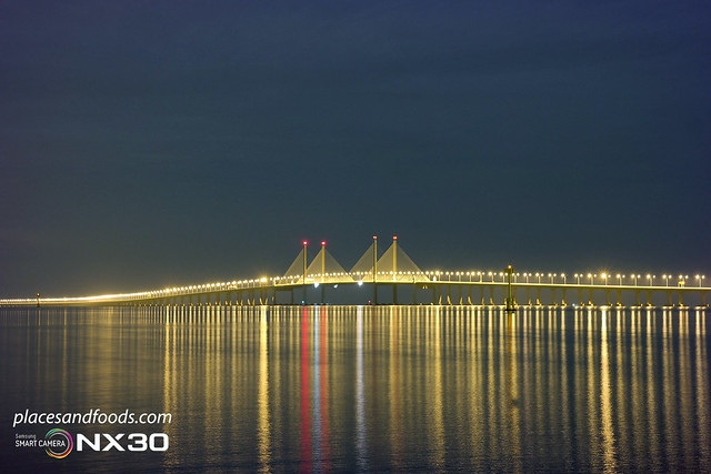 penang 2nd bridge close up