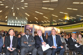 The Ceremony of the 35th anniversary of Vienna international Centre