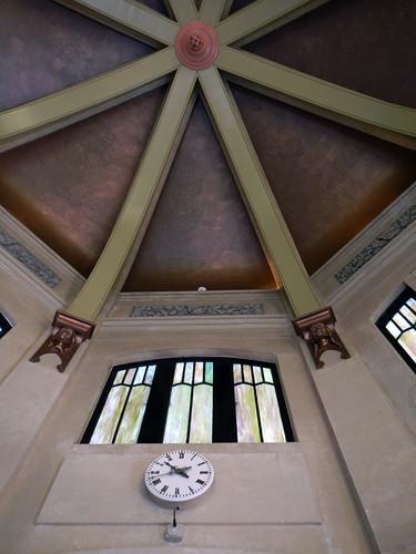 Copper Ceiling in Vista House