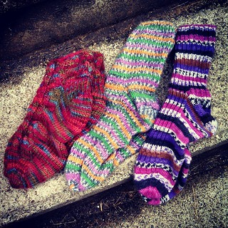 Day 17 #SoakPhotoChallenge Socks. It's just about #handknit #sock weather! #getyourkniton #knitstagram
