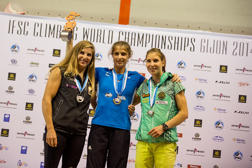 IFSC Lead Worldchampionship 2014 in Gijon / Spain