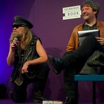 Julian Cope owned the stage at the Edinburgh International Book Festival |