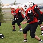 Bedford Road Collegiate Redhawks Junior Football Scrimage