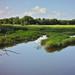 Blue skies and Darby Creek