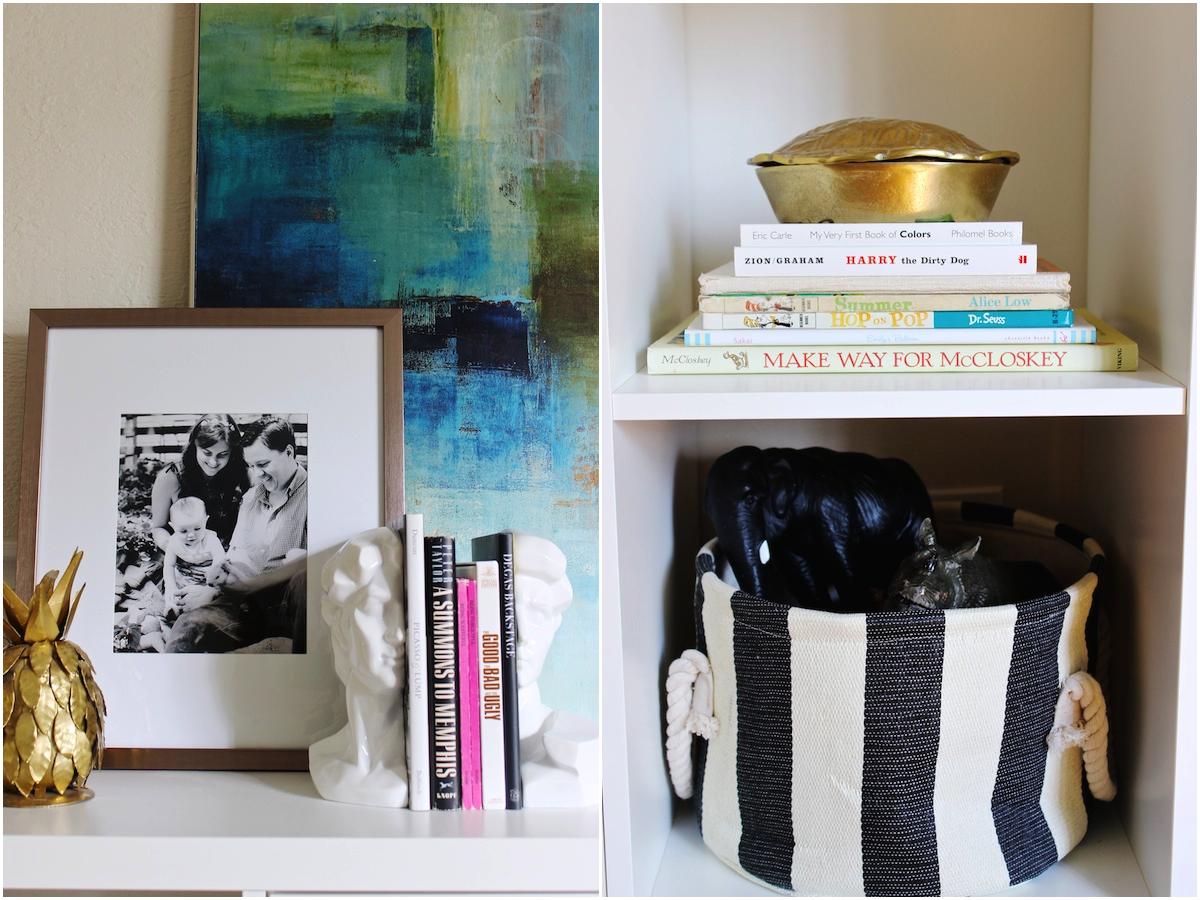 Bright, Kid-Friendly Living Room by Mandy Pellegrin