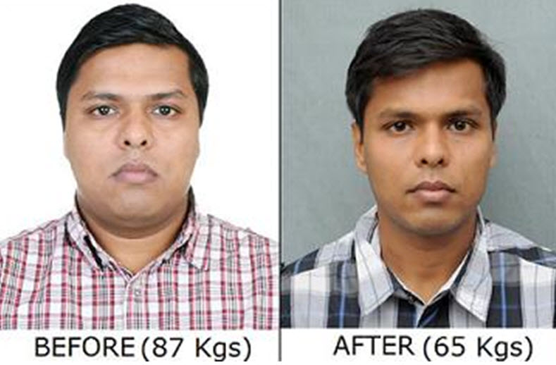 CAPF 2014 Ashish Ranjan Weightloss
