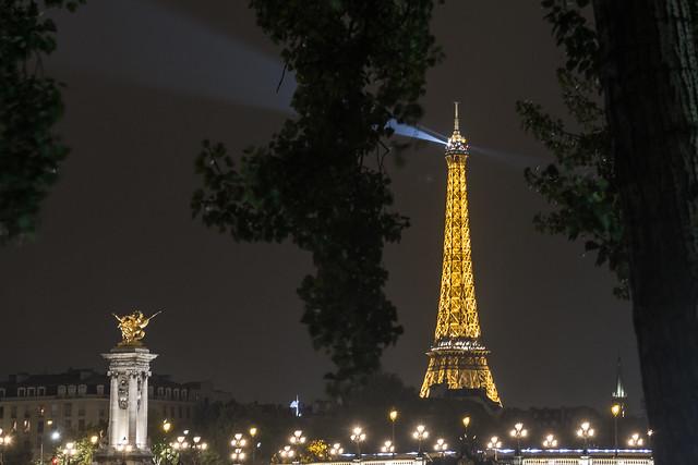 Midnight in Paris - Eiffel Tower