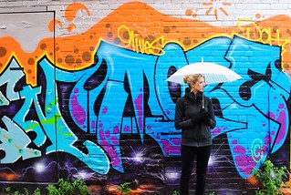 Self shot from Graffiti ally Toronto