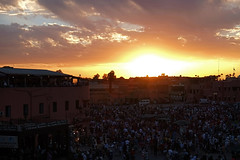 .sunset @ Place Jemaa el Fnà |1