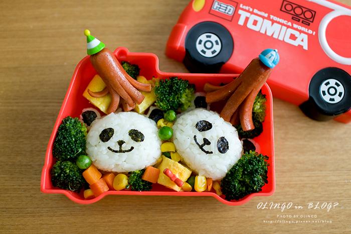 可愛便當分享(二) 熊貓便當 & 熊貓吐司做法大 ...