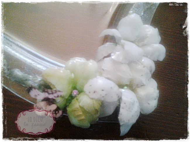 sospeso trasparente fiori