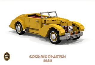 Cord 810 Phaeton - 1936