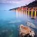 Villefranchsur-Mer depuis la plage des Marnières ( Cote d'Azur / France ) by AzurScape