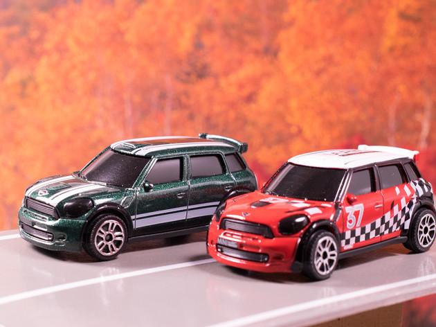 レビュー マジョレットミニカー ミニクーパー/WRC
