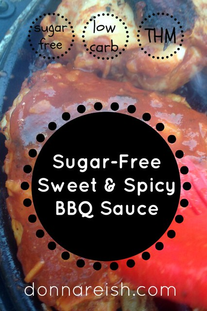 Sugar-Free Sweet & Spicy BBQ Sauce