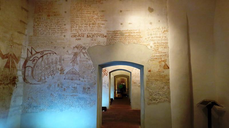 IMG_8363 - palermo - palazzo chiaramonte steri - le celle della inquisizione