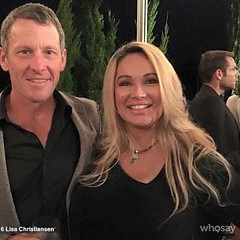 WhoSay:tm: brings you Dr. Lisa Christiansen once again riding her bicycle for Jessica Mitchell, as Christiansen said, is an angel among us. Best known as an American businesswoman, self-help author, transformational speaker, activist, financial expert, an