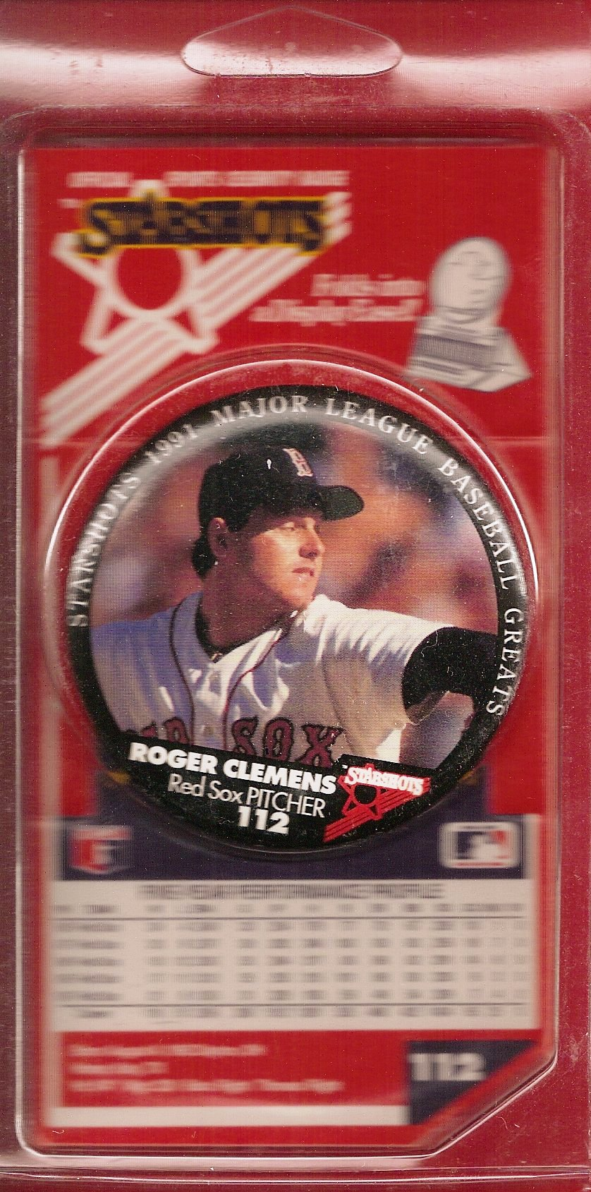 1991 Starshots Badge (Clemens)
