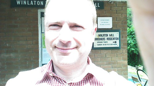 Jonathan at Winlaton Mill June 14