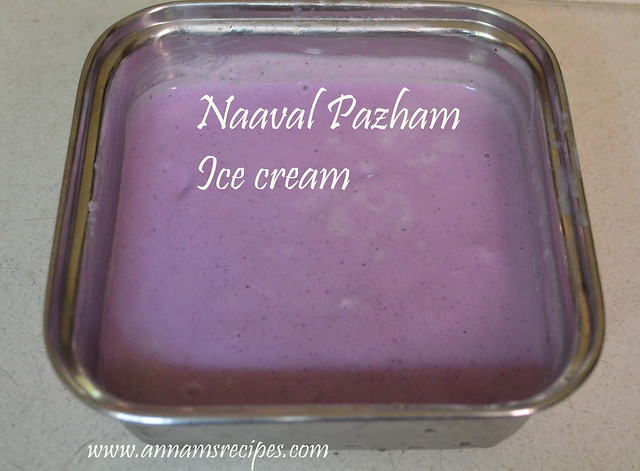 Black Jamun Ice Cream