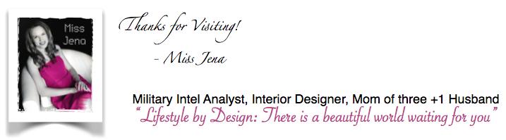 Miss Jenas Lifestyle studio design Jena Apgar