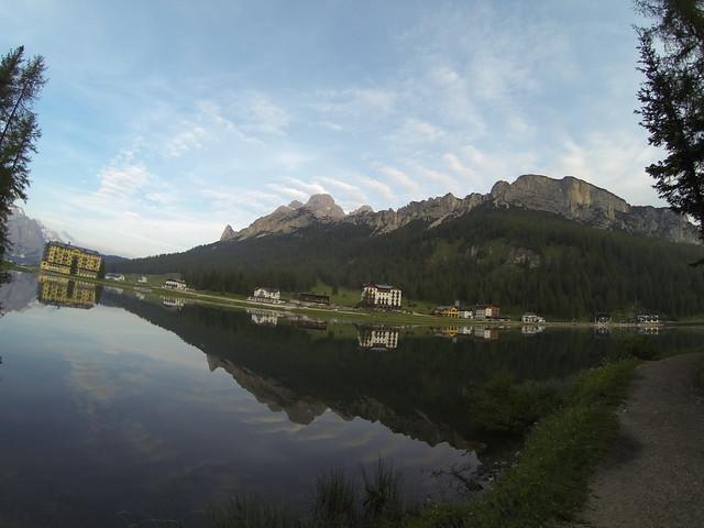Η λιμνη Misurina, τα πολλά λόγια είναι φτώχεια...