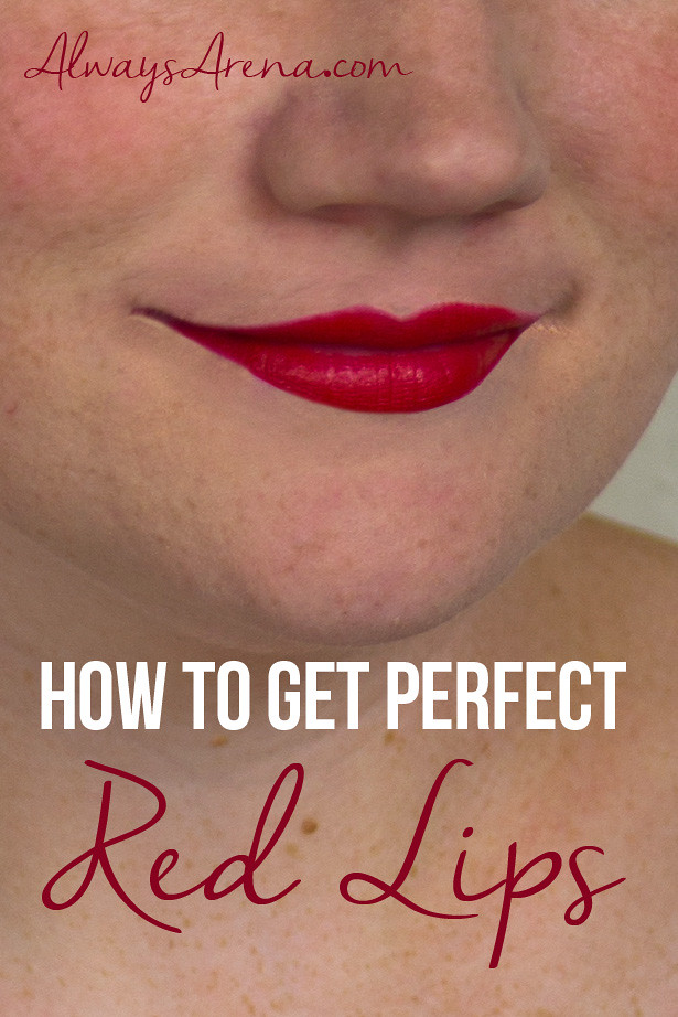 How to Get Perfect Red Lips