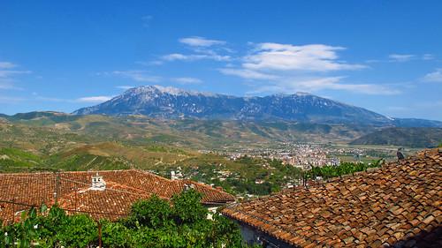 mountains albania berat