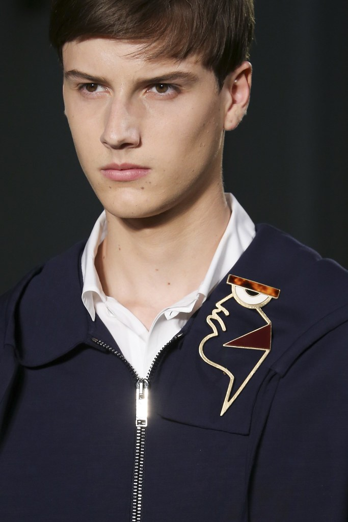 Excellent Male Model SS15 Paris Valentino Close-Up