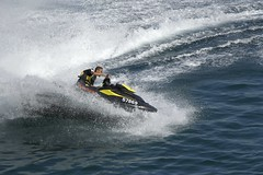 f1 powerboat racing(0.0), motorsport(0.0), vehicle(1.0), sports(1.0), recreation(1.0), outdoor recreation(1.0), boating(1.0), wind wave(1.0), extreme sport(1.0), wave(1.0), water sport(1.0), jet ski(1.0), personal water craft(1.0), watercraft(1.0),