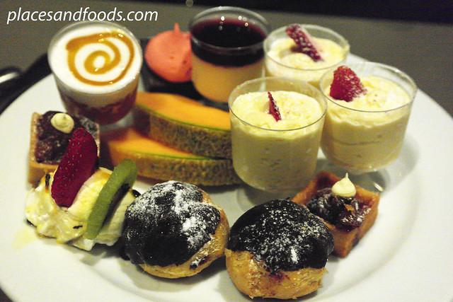 sydney tower desserts