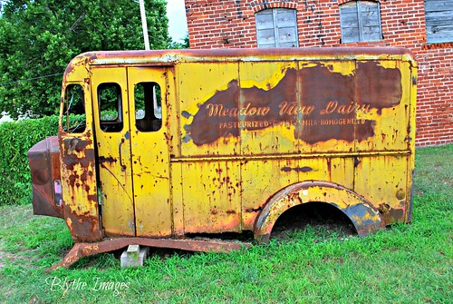 antique dairy milktruck okmulgeeoklahoma okmulgeecounty meadowviewdairy
