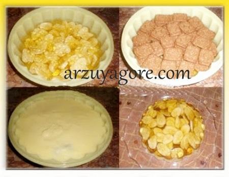 muzlu-jöleli pasta