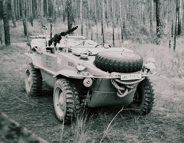 """Type 166 VW """"Schwimmwagen"""""""
