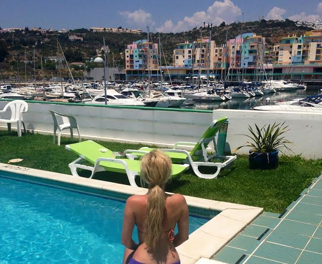 pool viewAlberfuira, La Bamba, Marina, My Holiday to Portgual, New Town, Old Town, Owners Direct, Portugal, Portugal Holiday Review, Villa in Portugal,