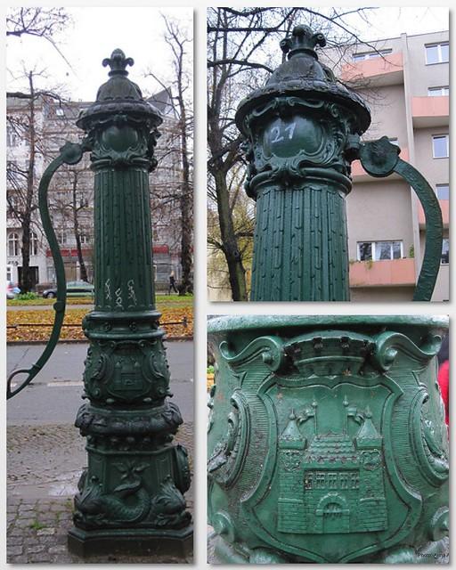 vesiposti Berliinissä