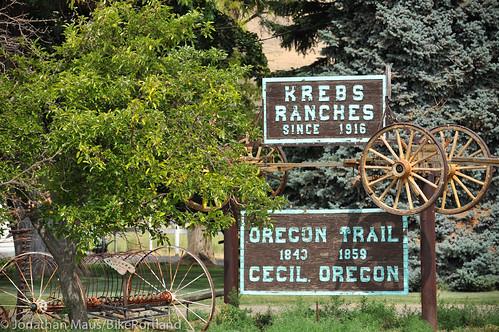 Treo Bike Ranch trip day 3 - Hardman to Columbia River-22