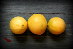 Lemons from our lemon tree!