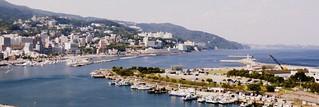 Atami Port in Atami City, Shizuoka, Japan