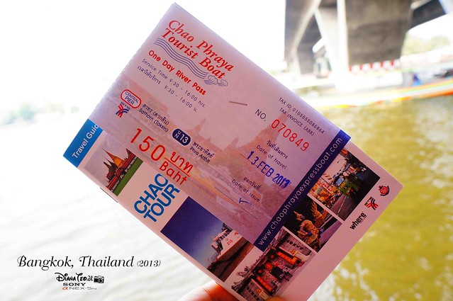 Bangkok 2013 Day 2 - Chao Phraya Tourist Boat