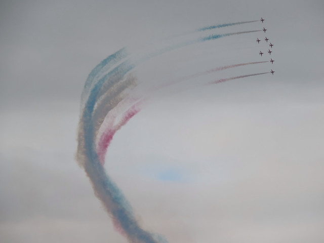 Red arrows Stirling