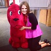 I totally just snuggled up to Clifford. Had to happen.