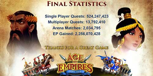 Age Of Empires Online has shut down