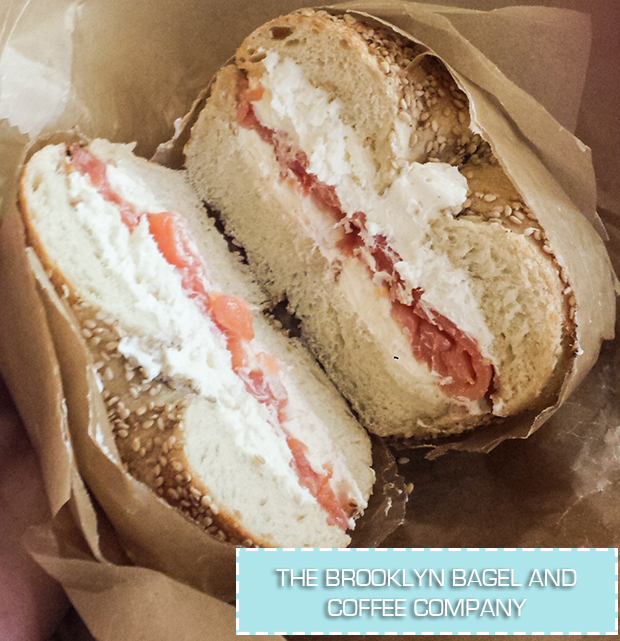 stylelab travel blog NYC food The Brooklyn Bagel and Coffee Company