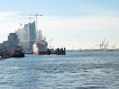 Elbphilharmonie and MS Cap San Diego, Hamburg - Helgoland Trip July 3th, 2014