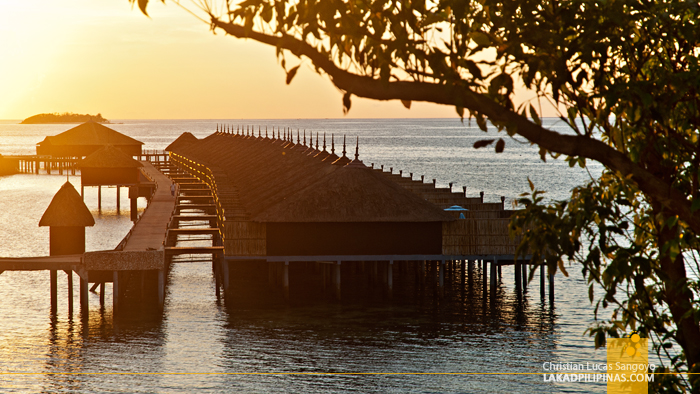 The Water Villas at Huma Island Resort & Spa in Palawan