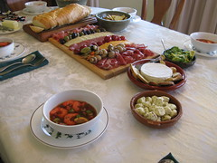 Antipasto & Not Gazpacho
